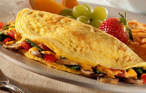 Дієтичні блюда з яєць