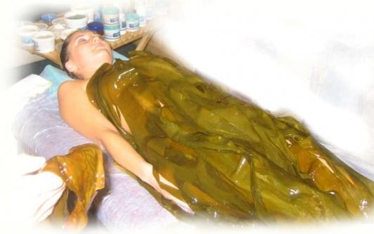 Делать водорослевые обертывания